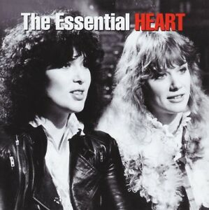 HEART (2 CD) THE ESSENTIAL ~ ALONE~BARRACUDA~MAGIC MAN ++ 70's / 80's ROCK *NEW*