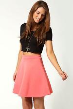 Mini-Damenröcke im A-Linien-Stil aus Polyester für die Freizeit