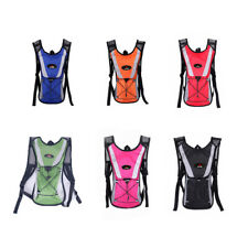 Hiking Camping Cycling Running Hydration Pack Backpack Bag + 2L Water Bladder