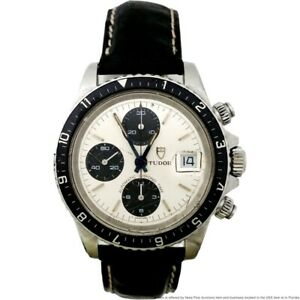 Scare Rolex Tudor Big Black Panda Oyster Chronograph Automatic 9421 Mens Watch