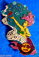 SURFERS PARADISE AUSTRALIA SEXY MUSICAL PINK MERMAID GIRL Hard Rock Cafe PIN