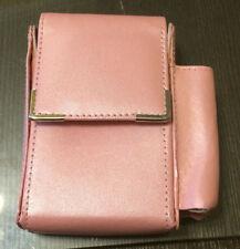 Pink Cigarette and Lighter Holder - Cigarette Packet Case - NEW