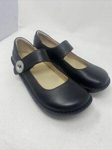 Alegria Paloma 40 Black Nappa Shoes Womens Size US 10 (pc318)