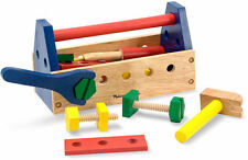 Melissa & Doug toma a lo largo de Tool Kit Conjunto de juguetes de construcción de madera-Niños de 24 piezas
