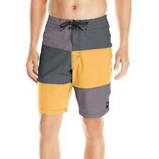 "Rusty Men's Boardshorts ""3 Peat"" BLK - Size 34 - NWT"