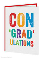 SALE Congratulations Graduate Graduation Greetings Card Funny Humour Well Done
