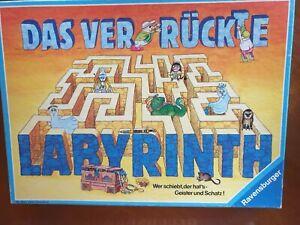 Das VERRÜCKTE LABYRINTH - Ravensburger Verlag , alte VERSION, KULT Kinder Spiel