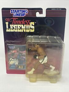 Starting Lineup 1998 Timeless Legends Muhammad Ali Action Figure + Card - NEW