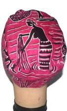 Unisex tribal woman African Print kufi hat