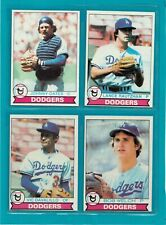 1979 Topps Baseball cards 4 LOS ANGELES DODGERS  EX-MT
