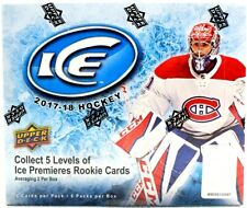 2017/18 UPPER DECK ICE HOCKEY HOBBY BOX  FREE PRIORITY SHIPPING!!