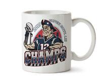 NEW ENGLAND PATRIOTS SUPERBOWL 53 VICTORY CHAMPS CUSTOM COFFEE MUG 11 OZ MUGS