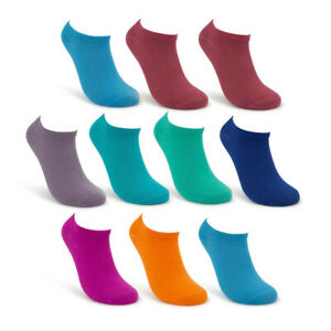 10pk/30pk Pairs Sof Sole Women's Socks Wazi Eco Soft No Show Sock Low Cut Ankle