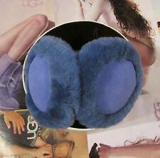 UGG Earmuffs Double U Violet Blue NEW