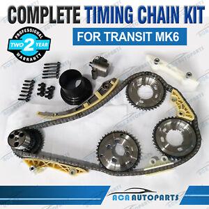 Brand New Timing Chain Kit Fits Ford Transit MK6 2000-2006 2.0L 2.4L Diesel