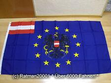 Fahnen Flagge Europa Österreich - 90 x 150 cm