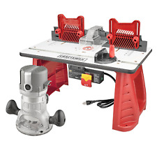 Craftsman Router and Router Table Combo Set 9.5 AMP 1.75 HP NEW