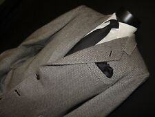 Oxxford Clothes men's Gray tweed sports jacket coat size 40 R