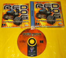RED DOG SUPERIOR FIREPOWER Dreamcast Dc Versione Europea PAL ○○○○○ COMPLETO