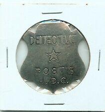 1930s Post Cereal JUNIOR DETECTIVE CLUB Detective