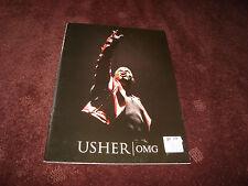 USHER OMG 2011 TOUR CONCERT PROGRAM BOOK