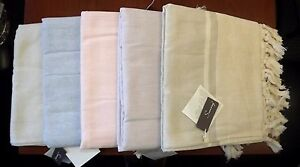 Turkish 50% Bamboo 50% Cotton Hand Loomed XL Bath Beach Towel Pestemal Peshtemal