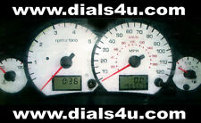 FORD TRANSIT Mk6 (including CONNECT) 2000-2006 - 120mph or 140mph WHITE DIAL KIT