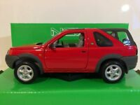 Land Rover Freelander, red, RHD, 1998. 1/24 scale Welly Model Car New and Sealed
