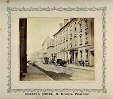 Halifax Nova Scotia Photographer - 1870 - Joseph S. Rogers - Halifax Hotel