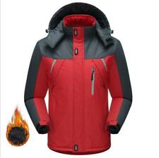 Mens Winter Velvet Jersey Windproof Coat Thick Hiking Outdoor Jacket M-5XL Ths01