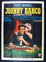 Poster Johnny Werkbank Sylva Koscina Horst Bucholz Allégret Bisca Casino M272
