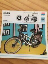 Sparta 50 saxonette 1992 Carte moto Collection Atlas Pays-Bas