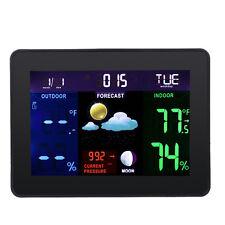 NEW Wireless Weather Station Forecast Indoor Outdoor Temperature Humidity Meter