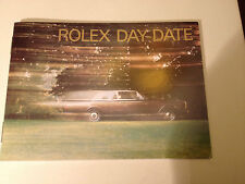 ROLEX vintage Day Date  Booklet 1990 to 1999 Choice of Dates