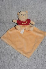 DISNEY BABY DOUDOU WINNIE MOUCHOIR JAUNE PULL TEE SHIRT ROUGE ABEILLE ETAT NEUF