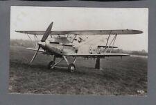 HAWKER HIND BOMBER BIPLANE VINTAGE POSTCARD RAF