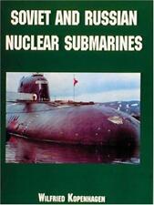 soviético y RUSO Nuclear submarines por WILFRIED Kopenhagen LIBRO DE BOLSILLO