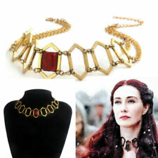 Game of Thrones Melisandre Cosplay Choker Necklace Women Jewelry Pendant