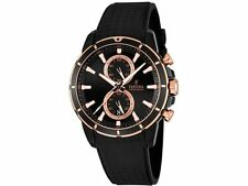 New Festina F16852/1 Men's Watch Rose Gold Accents Chronograph Sport