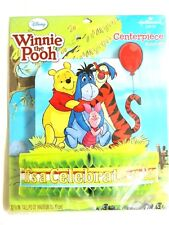 "WINNIE THE POOH  1 - CENTERPIECE   12 3/8"" TALL   . PARTY SUPPLIES"