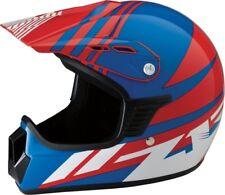 Z1R RED / WHITE / BLUE OFF ROAD HELMET, MOTORCYCLE, ATV, YOUTH, KIDS S/M, Z