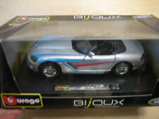 1/24 scale Die Cast Dodge Viper SRT-10 SILVER  NEW by Burago