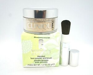 Clinique Blended Face Powder and Brush ~ 08 Transparency Neutral (MF) ~ 35g /BNI