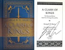 A Song of Ice and Fire Illustrated Edition Ser.: A Clash of Kings: the Illustrated Edition : A Song of Ice and Fire: Book Two by George R.R. Martin (2019, Hardcover)
