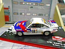 OPEL Manta B 400 Rallye Monte Carlo 1986 #18 Hero Matter Mobil IXO 1:43