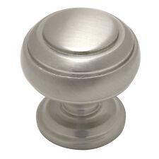 Cosmas Cabinet Hardware Satin Nickel Round Cabinet Knobs #7498SN