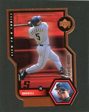 1999 UD Jeff Bagwell View to a Thrill  LE 588/2000 Card #V14        A6