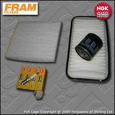 Kit DE SERVICIO Para Toyota Corolla 1.4 ZZE120 Filtro Aire Aceite Cabina de gasolina Enchufe 01-07