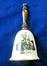 1980 Norman Rockwell Gorham fine china bell