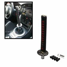 Samurai Sword Shift Knob Shifter Katana Metal 26cm BLACK&RED With Adapters